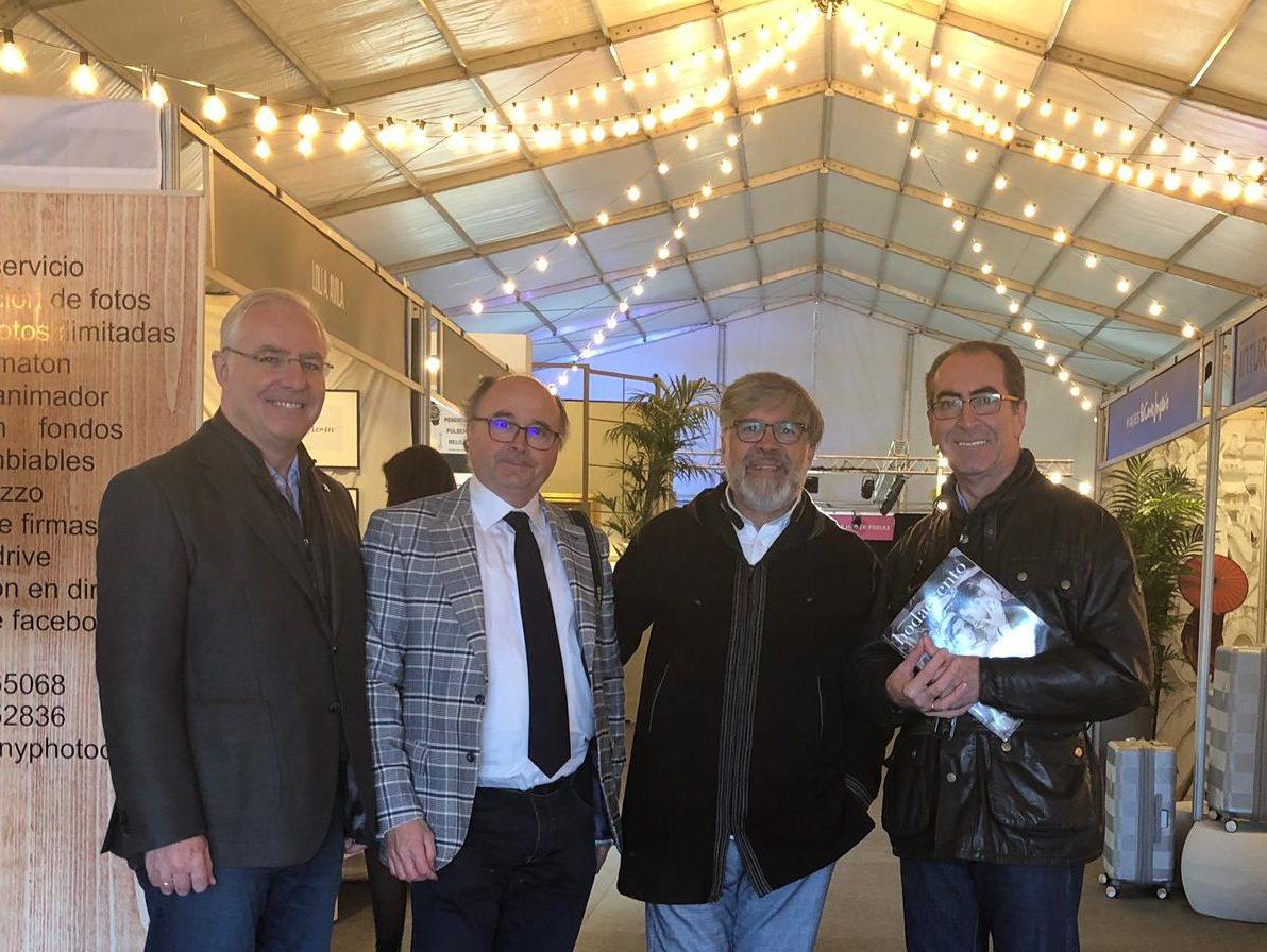 Delegado de Comercio visita Expoboda