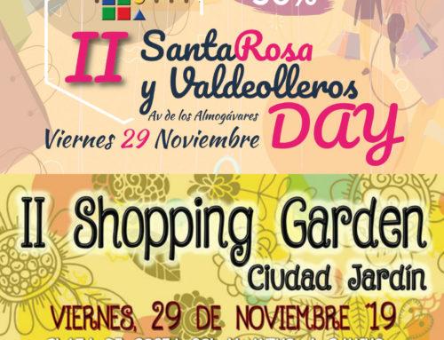 Shopping Garden y Santa Rosa Day 2019