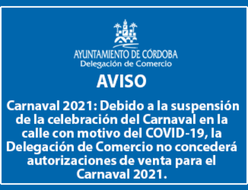 Aviso Carnaval 2021