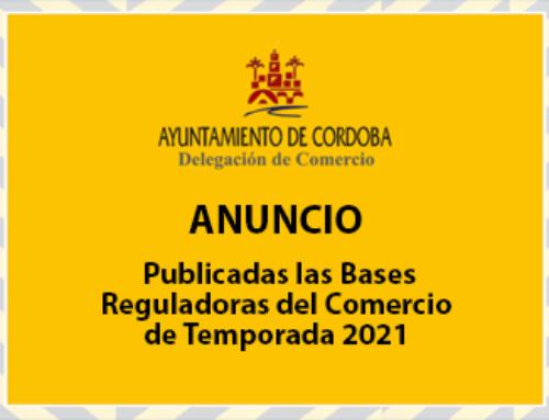 Bases Reguladoras del Comercio de Temporada 2021